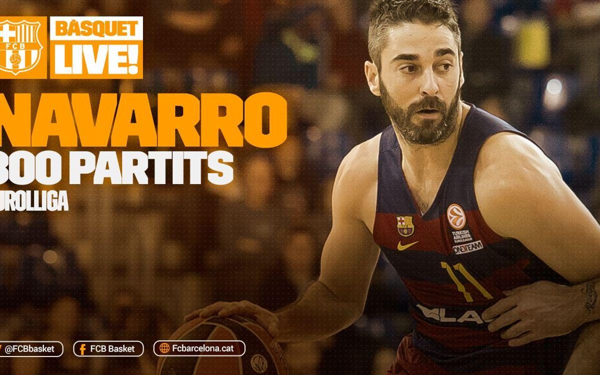 Juan Carlos Navarro, a un partido de hacer historia en la Euroliga