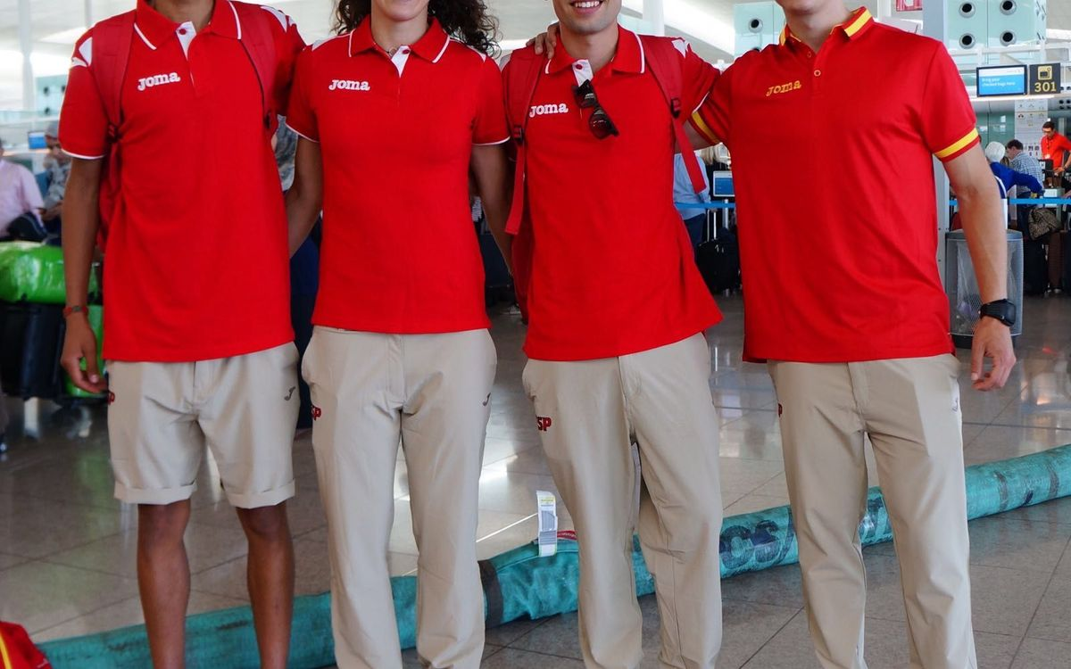 Cuatro atletas blaugrana en el Campeonato de la Unión Mediterranea en Túnez