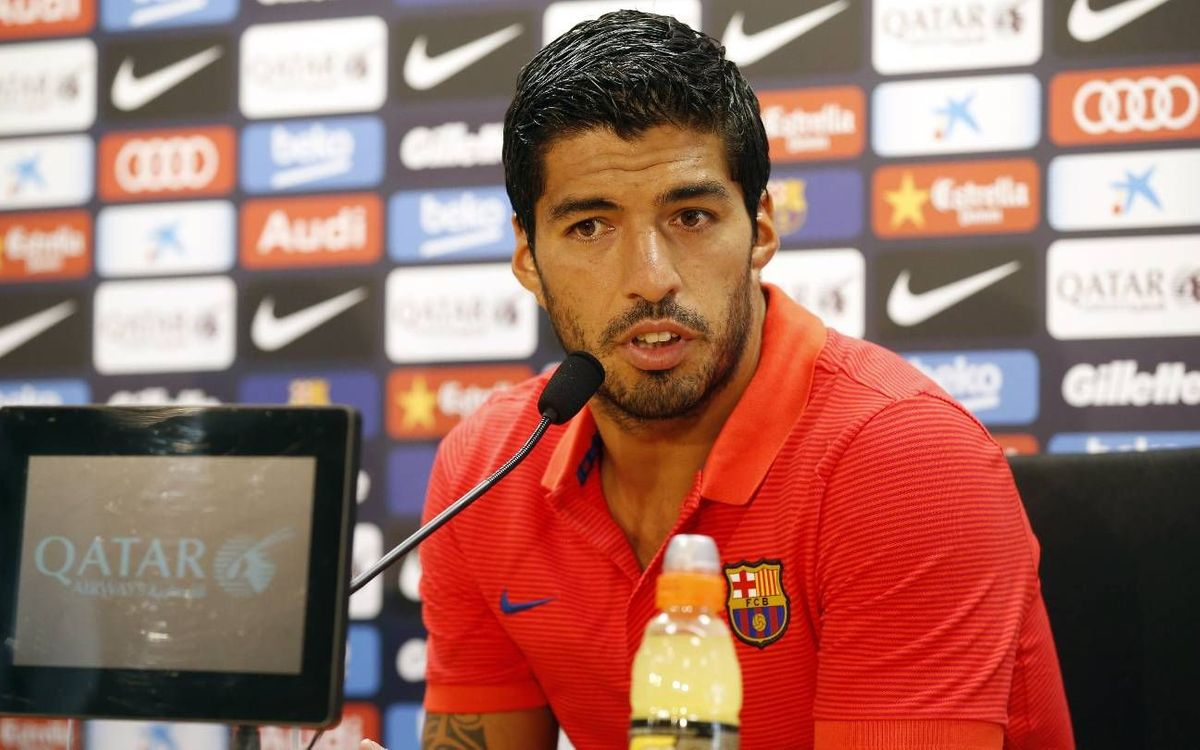 Luis Suárez sizes up the new season