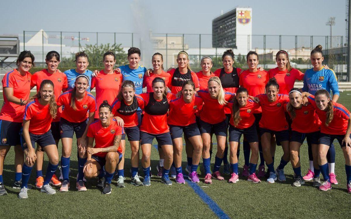 El Barça Femenino disfruta de una divertida jornada en el Parque de Atracciones de Albi