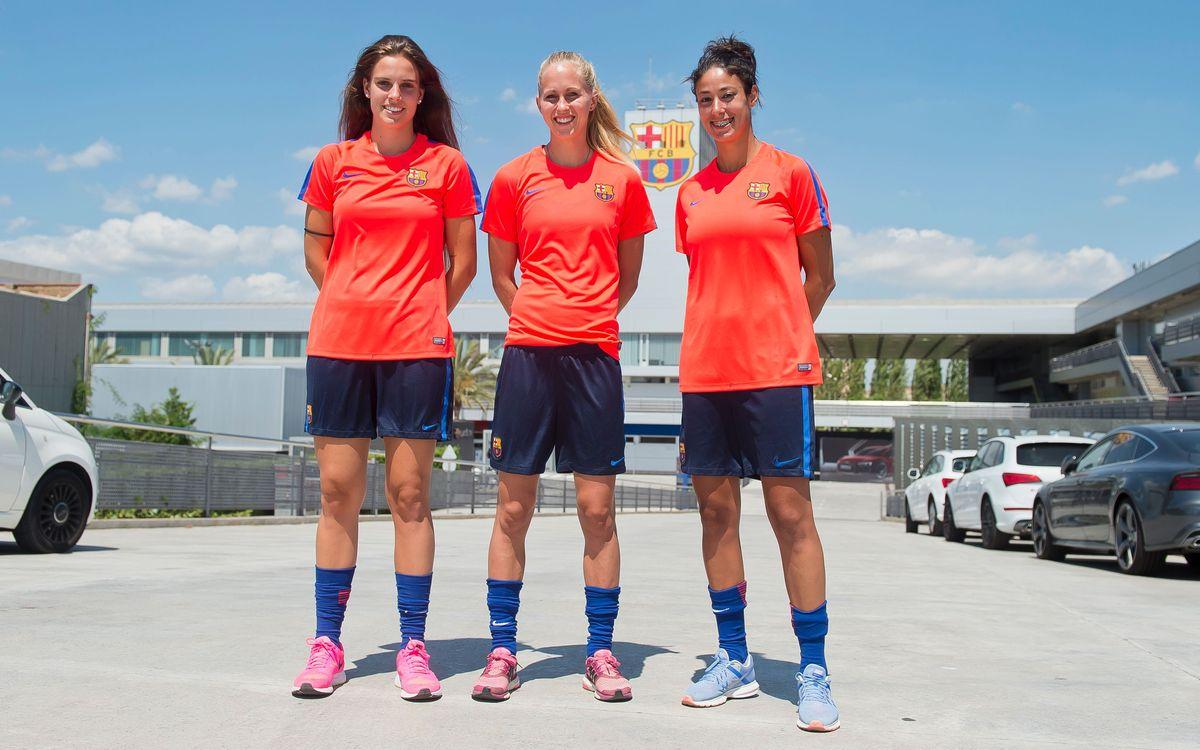 El Barça Femenino 2016/17 se pone en marcha
