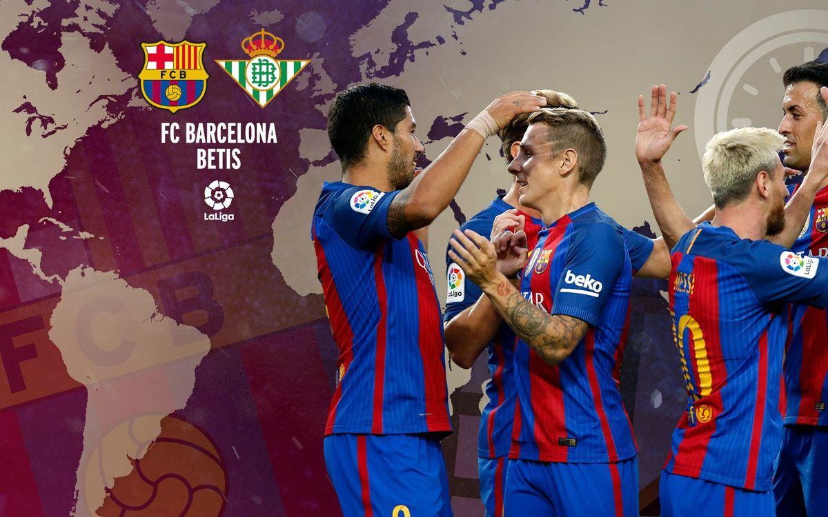 Quan i on es pot veure el FC Barcelona - Betis