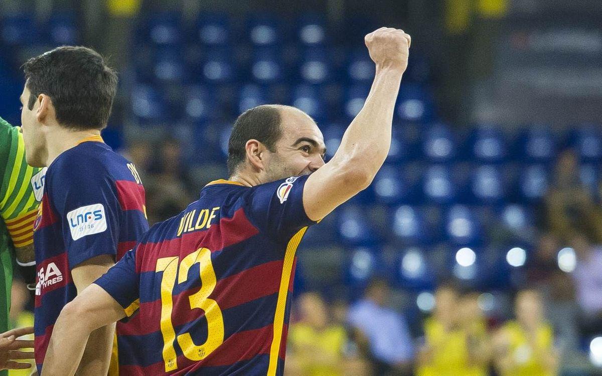El FC Barcelona Lassa necesita ganar para forzar el cuarto partido