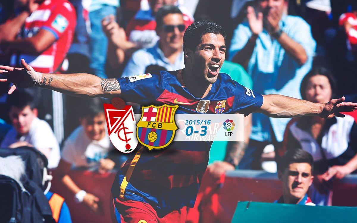 Granada: 0 - FC Barcelona: 3