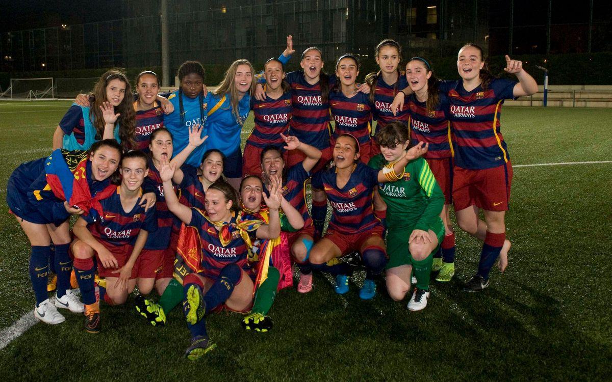 ¡El Juvenil-Cadete, campeón de Liga! (2-1)