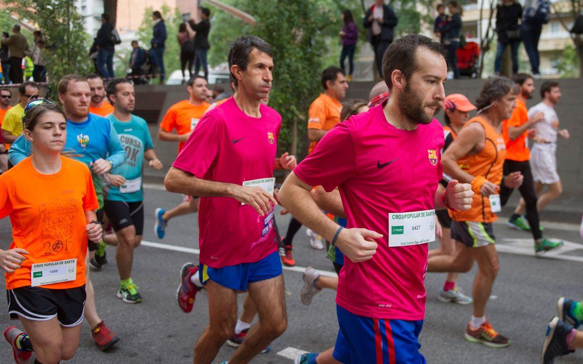 La carrera de Nou Barris cierra la cuarta Liga 'Corrent fem Barça'