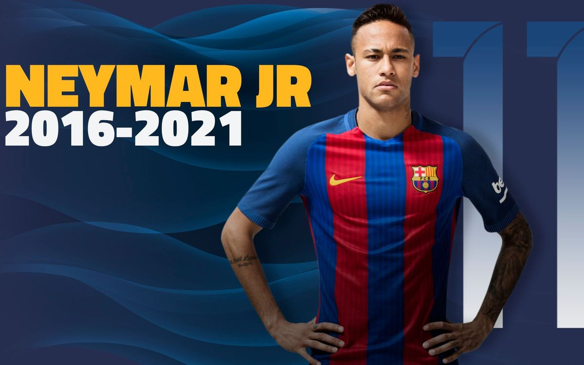 Neymar extends contract until 2021