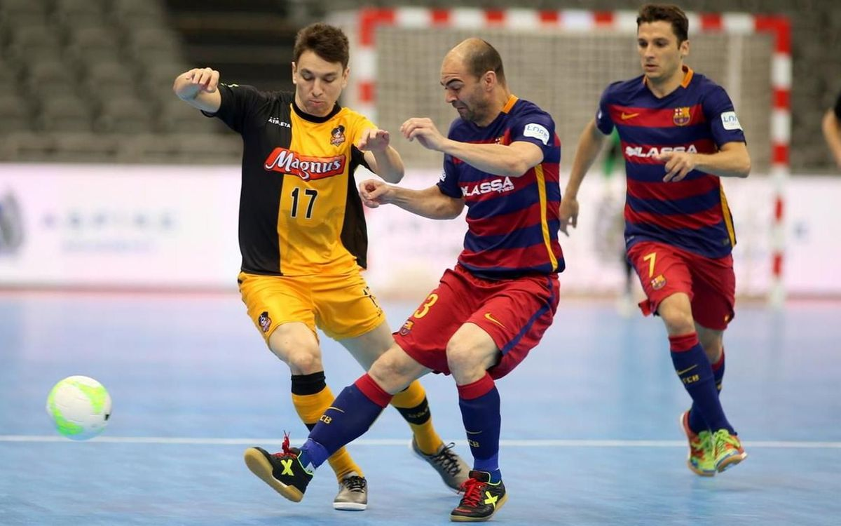 FC Barcelona Lassa v Magnus Futsal: Penalty shootout heartbreak (3-3, 1-3)