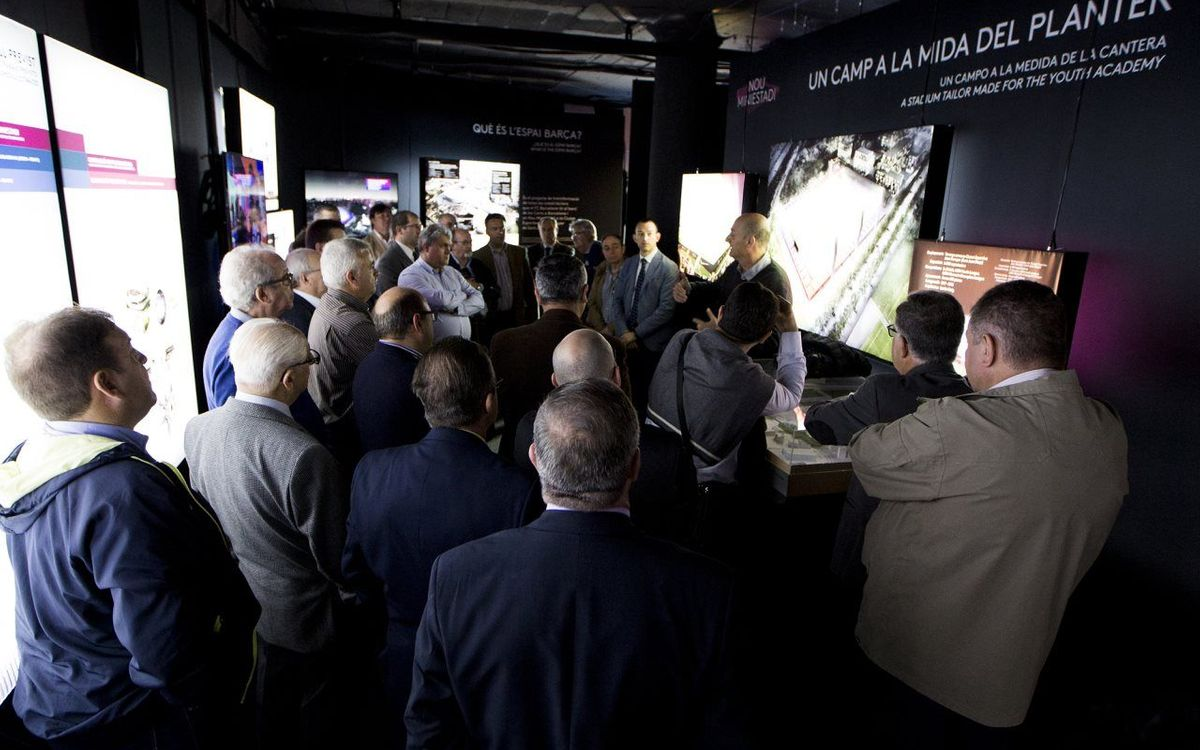 La exposición del Espai Barça cierra con más de 166.000 visitantes