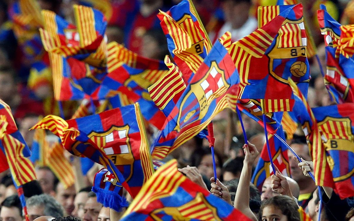 More than a thousand Supporters Clubs at Copa del Rey final