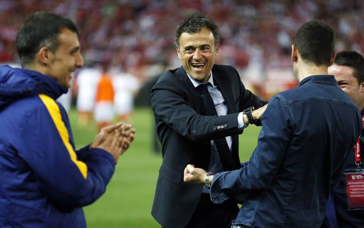 Luis Enrique wins 100th game as FC Barcelona manager