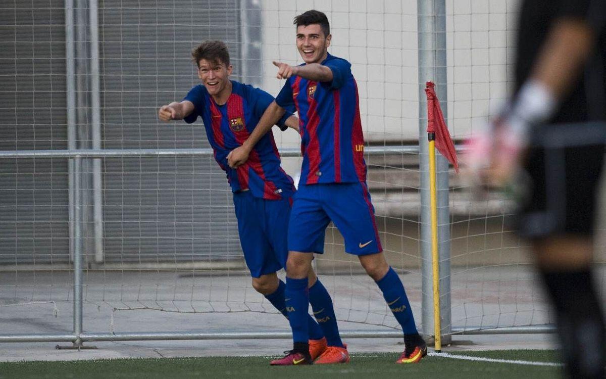 UE Cornellà – Barça B: Paso adelante en la Copa Catalunya (0-2)