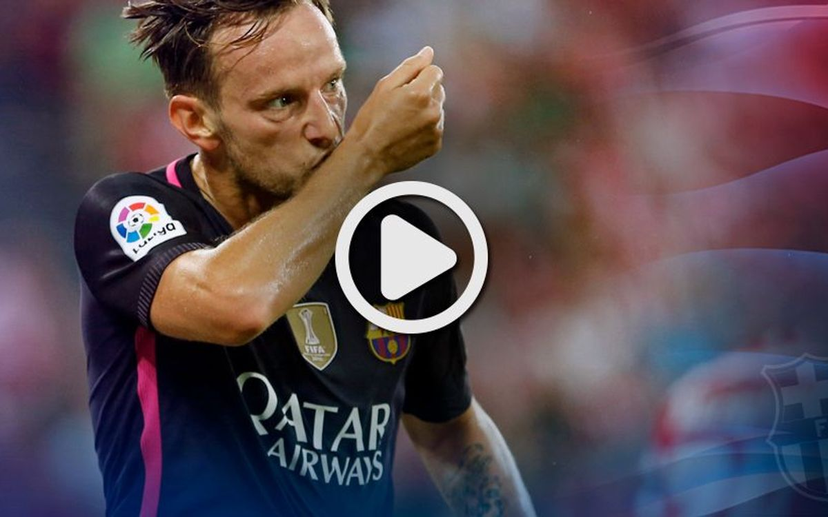 League video highlights: Athletic Club - FC Barcelona