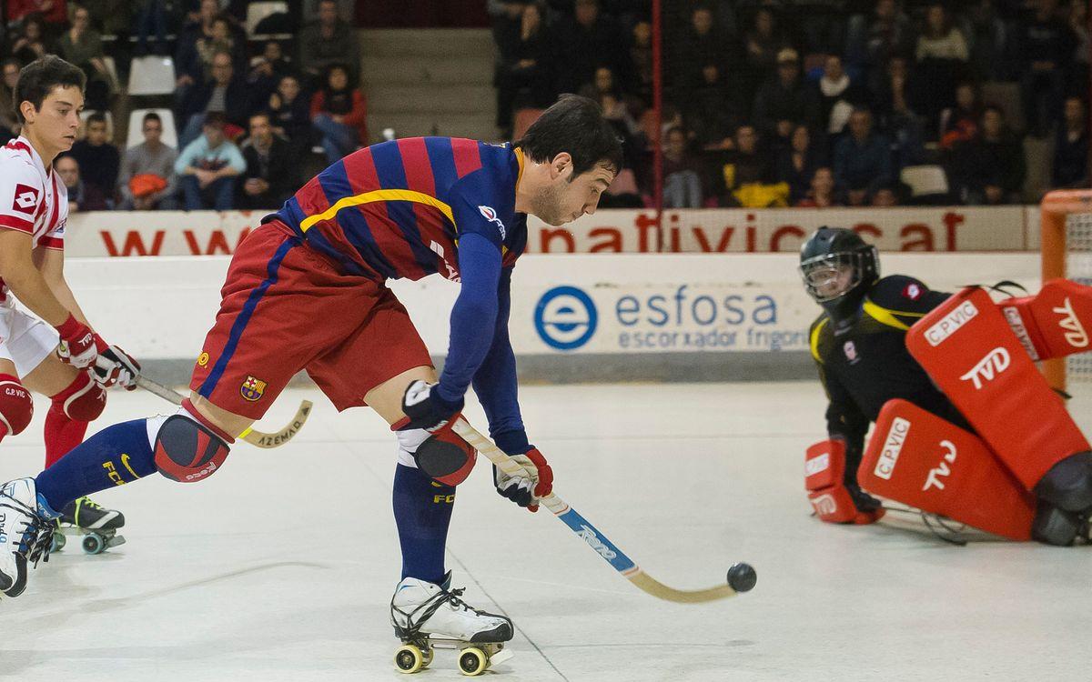 Les possibilitats del Barça Lassa de ser campió contra el Vic al Palau