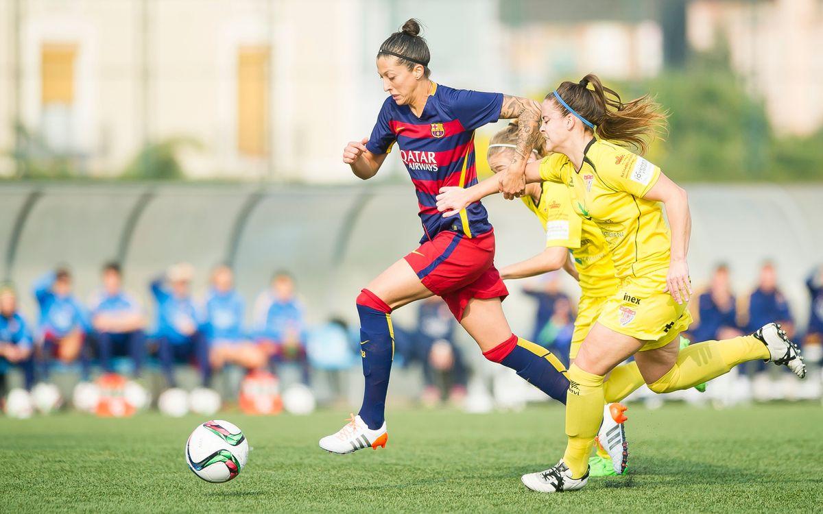 Santa Teresa CD - FC Barcelona Femenino: Para tomar la iniciativa