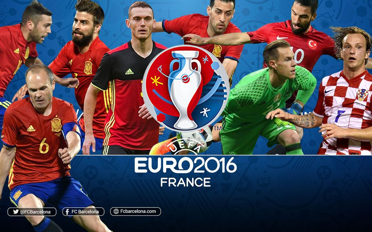 How the FC Barcelona players performed at Euro 2016