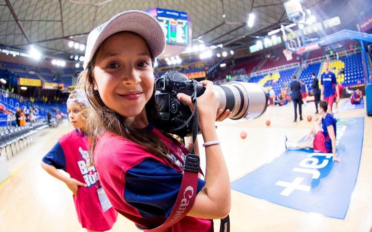 Toda la experiencia de vivir un partido en el Palau Blaugrana como reportero Rookie