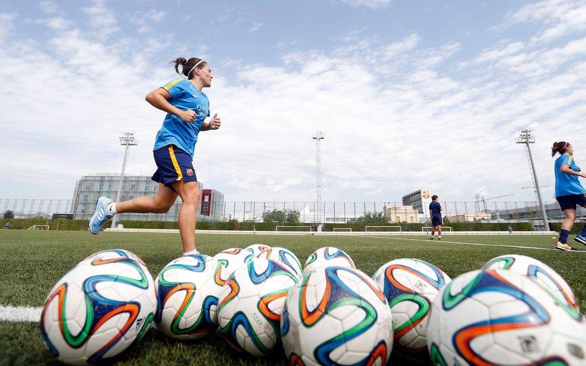 El Barça Femenino vuelve este jueves