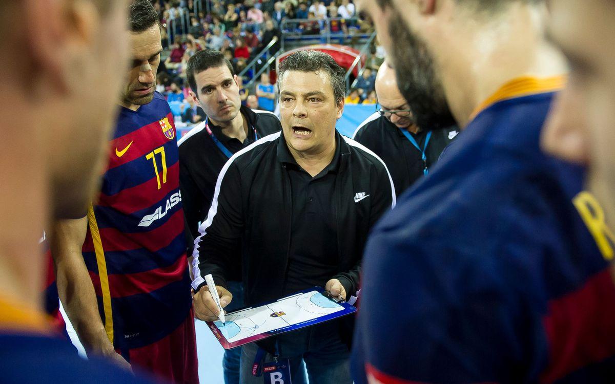 """Pascual: """"A la Champions, i fora de casa, no es guanya mai sense patir"""""""