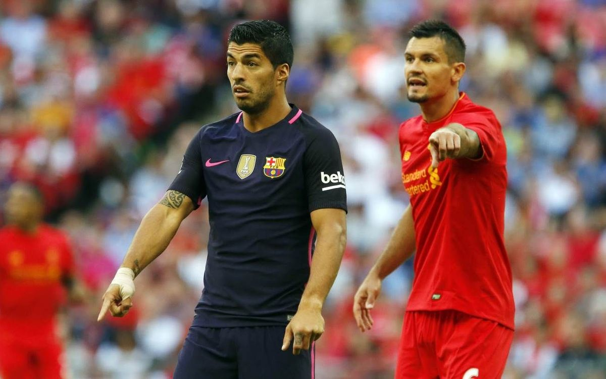 Luis Suárez touched by ovation from Liverpool fans