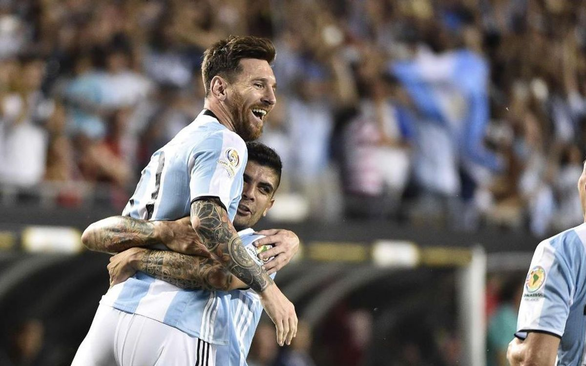 Three from FC Barcelona chasing Copa America semi-final berths