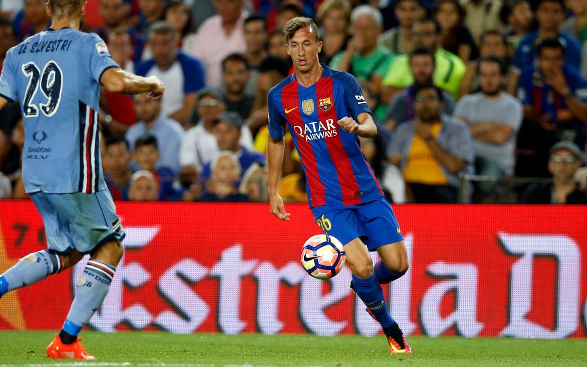 Cámara, cedido una temporada al Girona FC