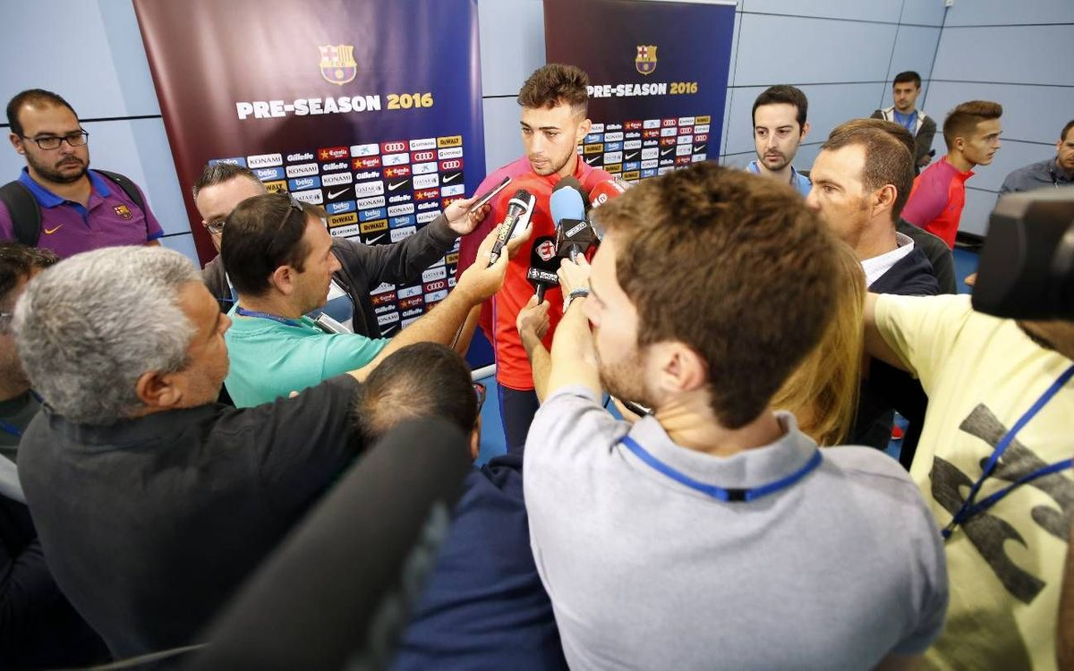 Munir and Denis talk camp, new season
