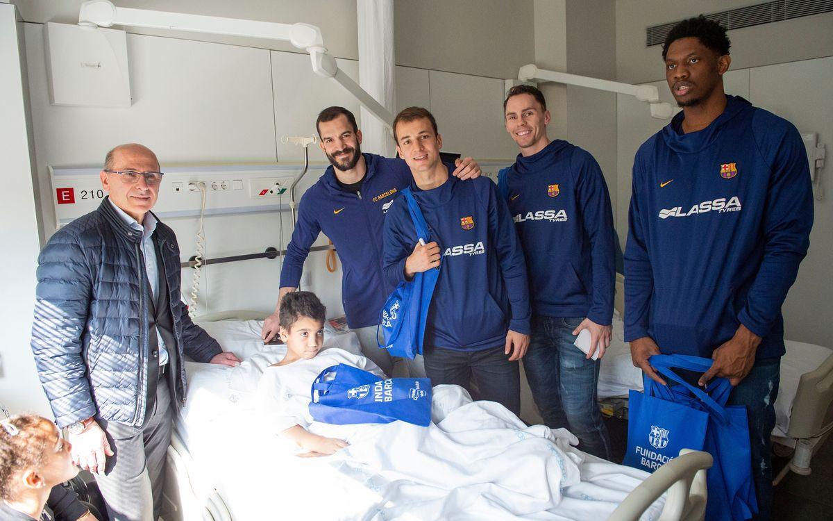 Visita al Hospital de Sant Pau de Barcelona