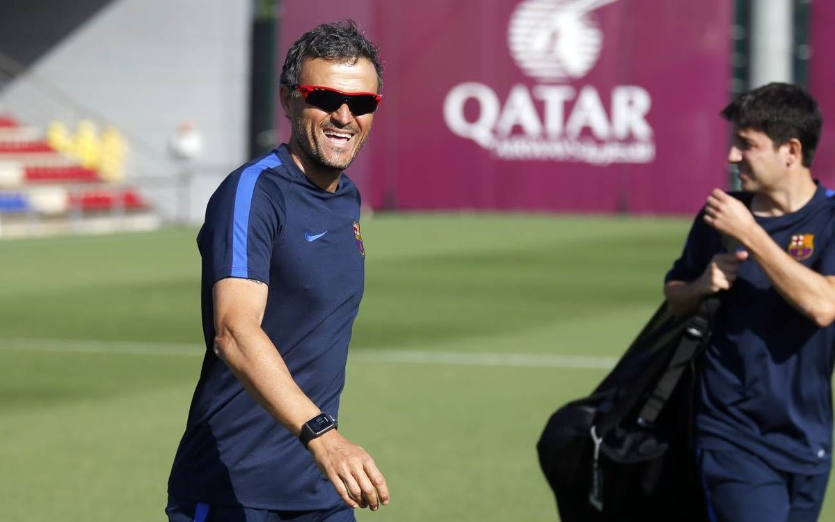 Luis Enrique: We come into this final in good shape
