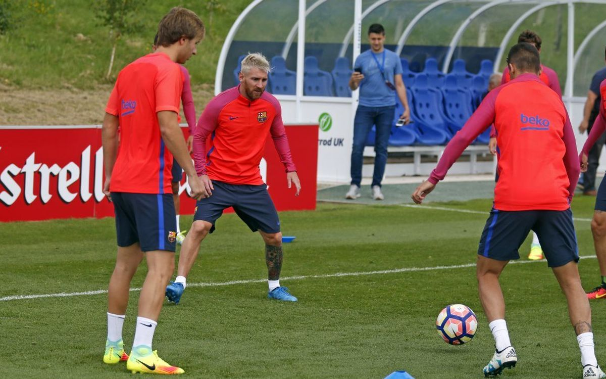 Double session on Tuesday at St. George's Park