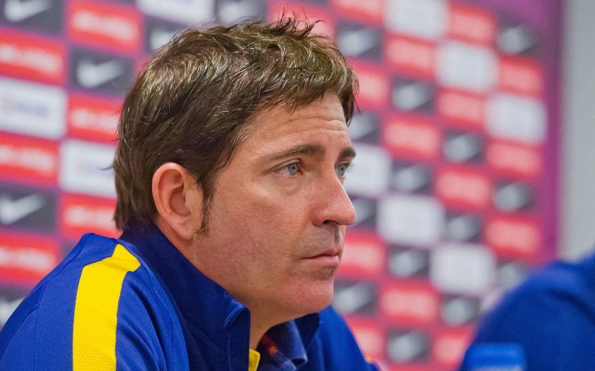 Pascual destaca la calidad de un rival que exigirá