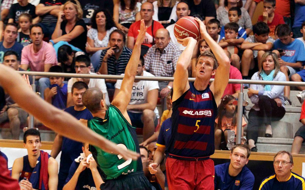 El Barça Lassa disputarà el torneig de Sant Julià de Vilatorta