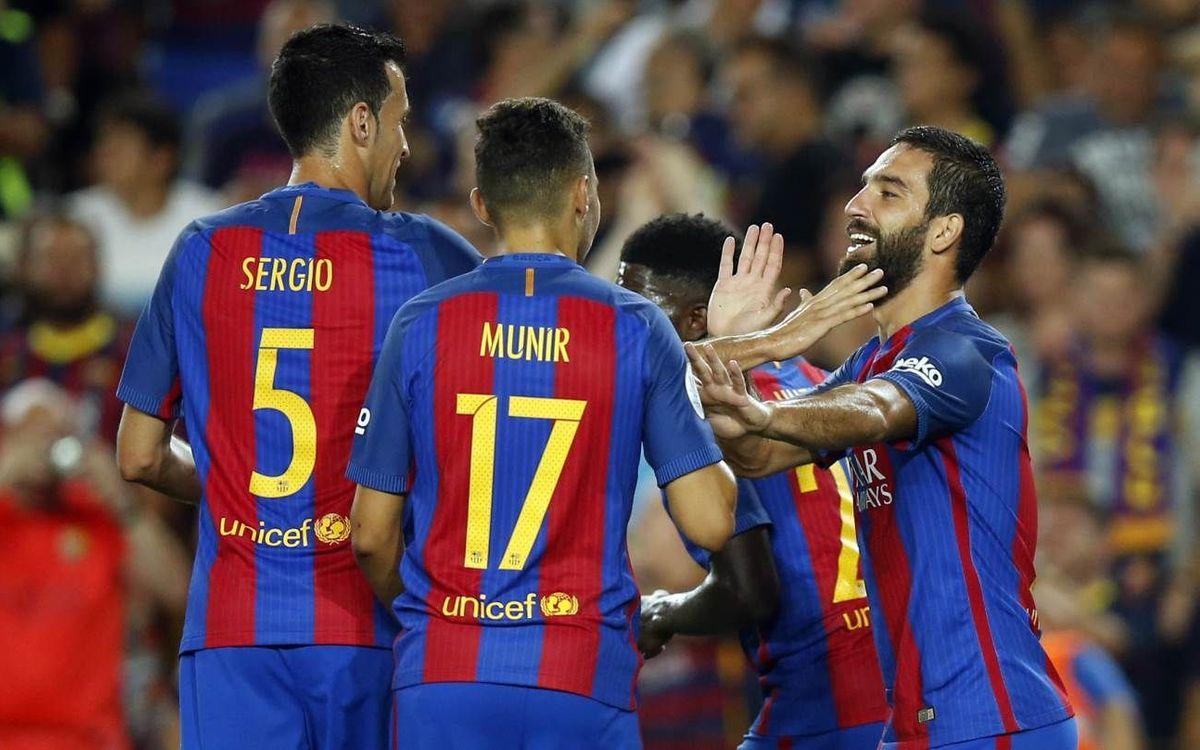 FC Barcelona v Sevilla FC: Supermen! (3-0)