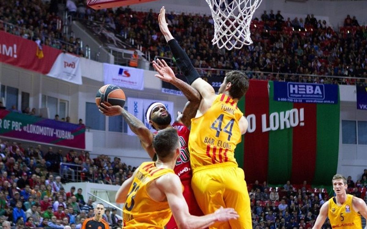 Lokomotiv Kuban v FC Barcelona Lassa: Defeat in game one (66-61)