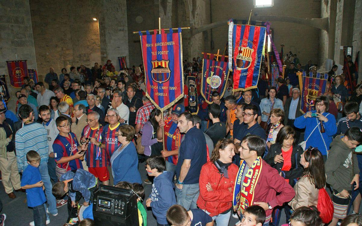 Bartomeu assisteix al 50è aniversari de la PB d'Onda i XVIII Trobada de Penyes Barcelonistes de les Comarques de Castelló