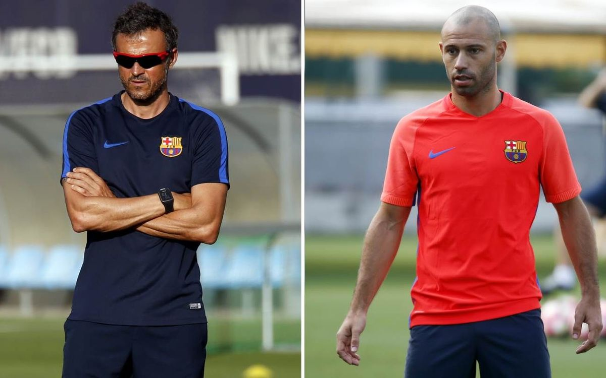 LIVE: Luis Enrique and Javier Mascherano press conference