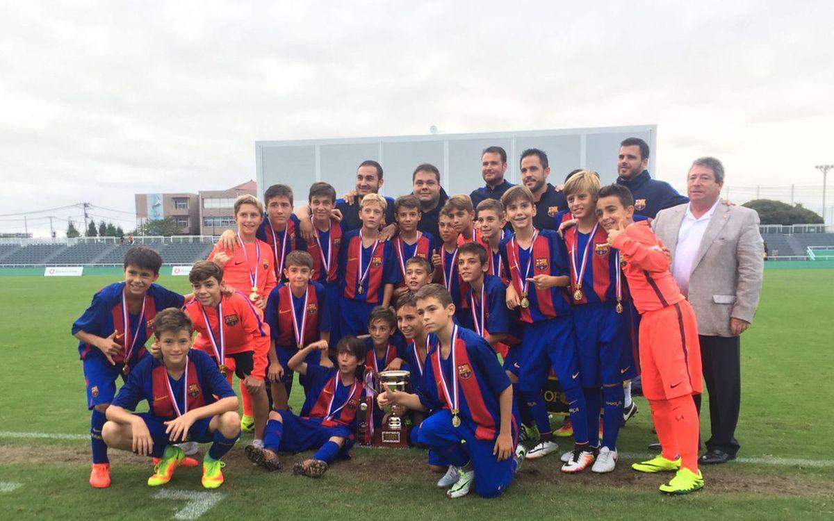 El Infantil B gana la World Challenge Cup