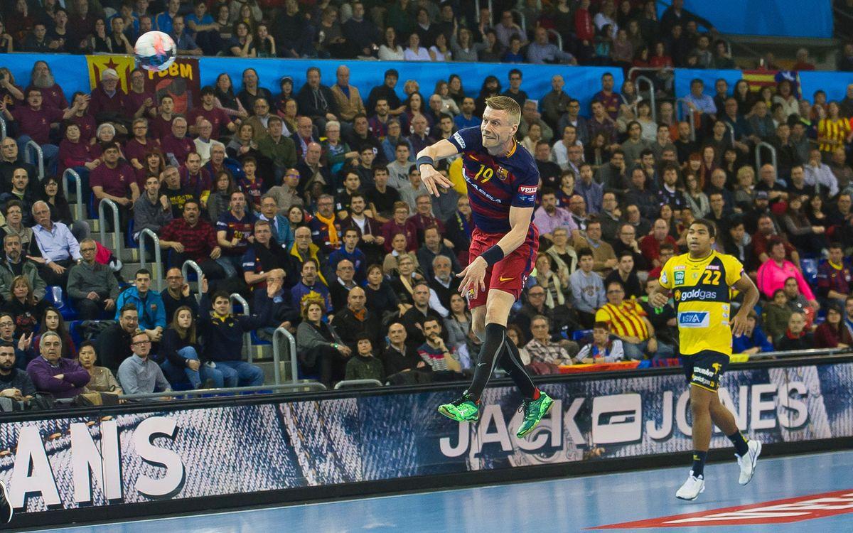 FC Barcelona Lassa – BM Benidorm: Un partit per als nens i les nenes