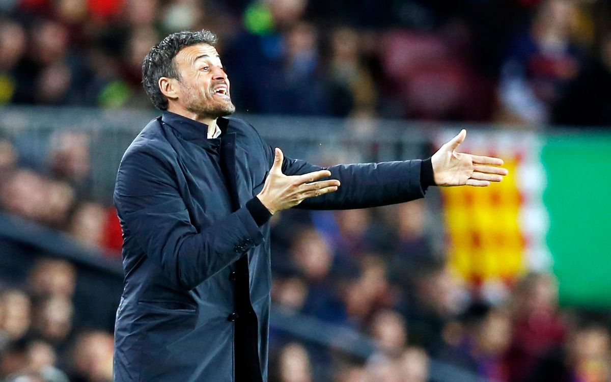 Luis Enrique, 13 de 14 eliminatòries superades