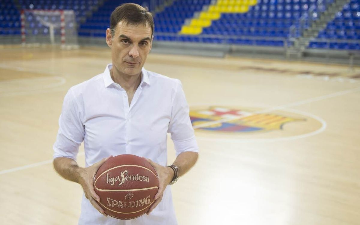 Georgios Bartzokas, primer entrenador grec en la història del FC Barcelona Lassa