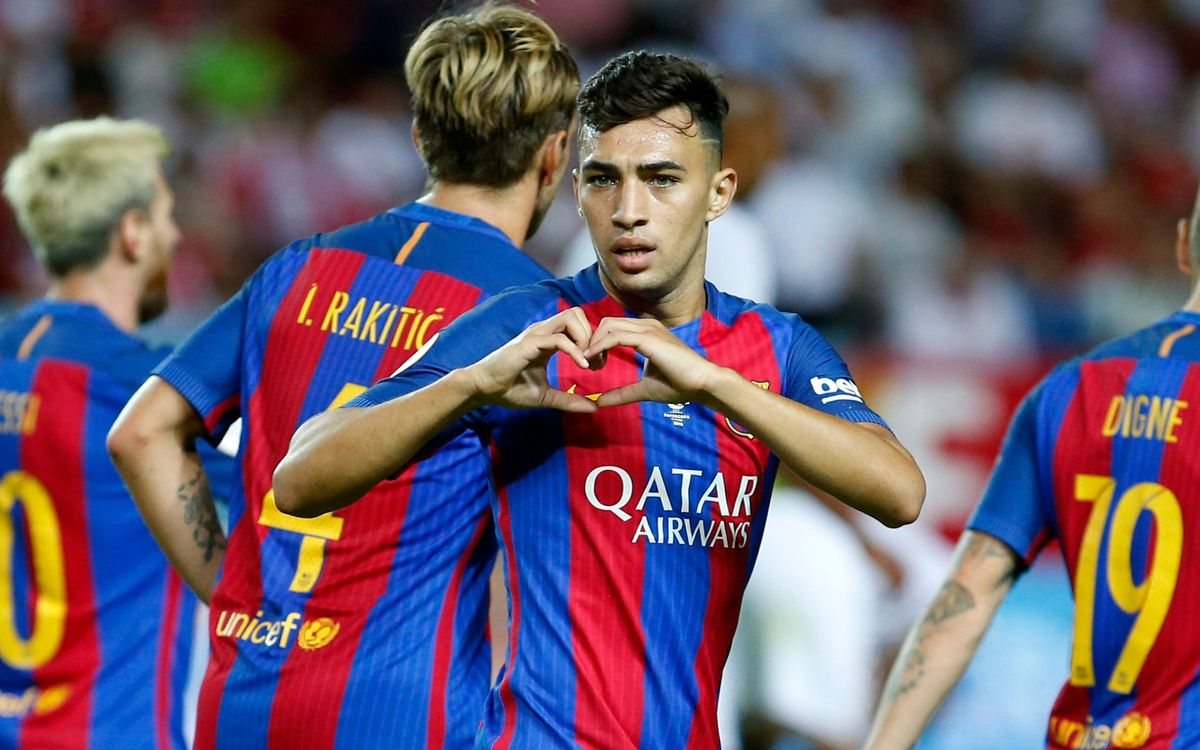 Agreement with Valencia for Munir loan