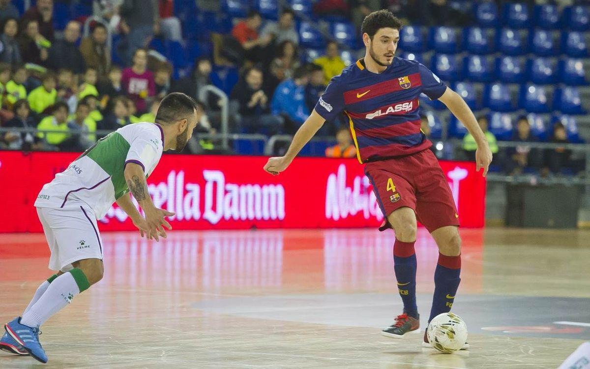 El FC Barcelona Lassa acaba hoy la Liga regular de la LNFS
