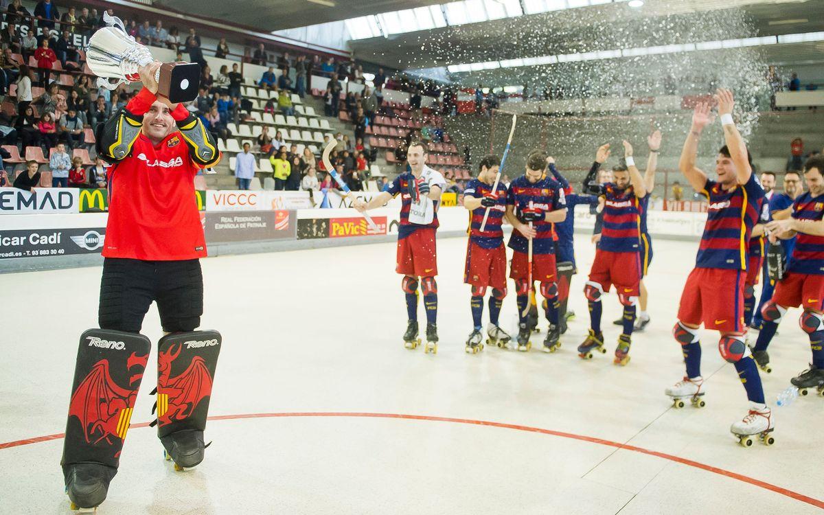 La Supercopa de España de hockey patines se disputará en Reus el 17 y 18 de septiembre