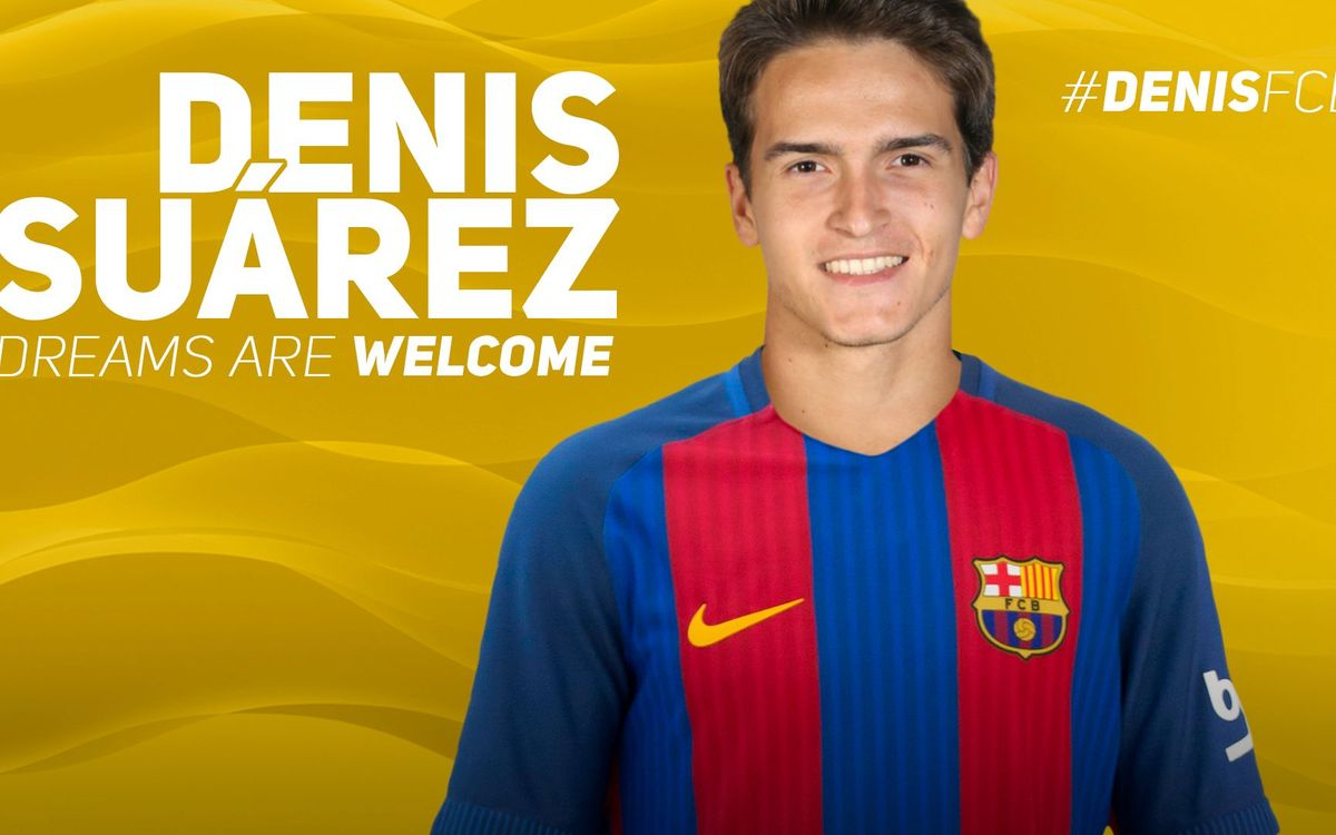 Denis Suárez joins FC Barcelona
