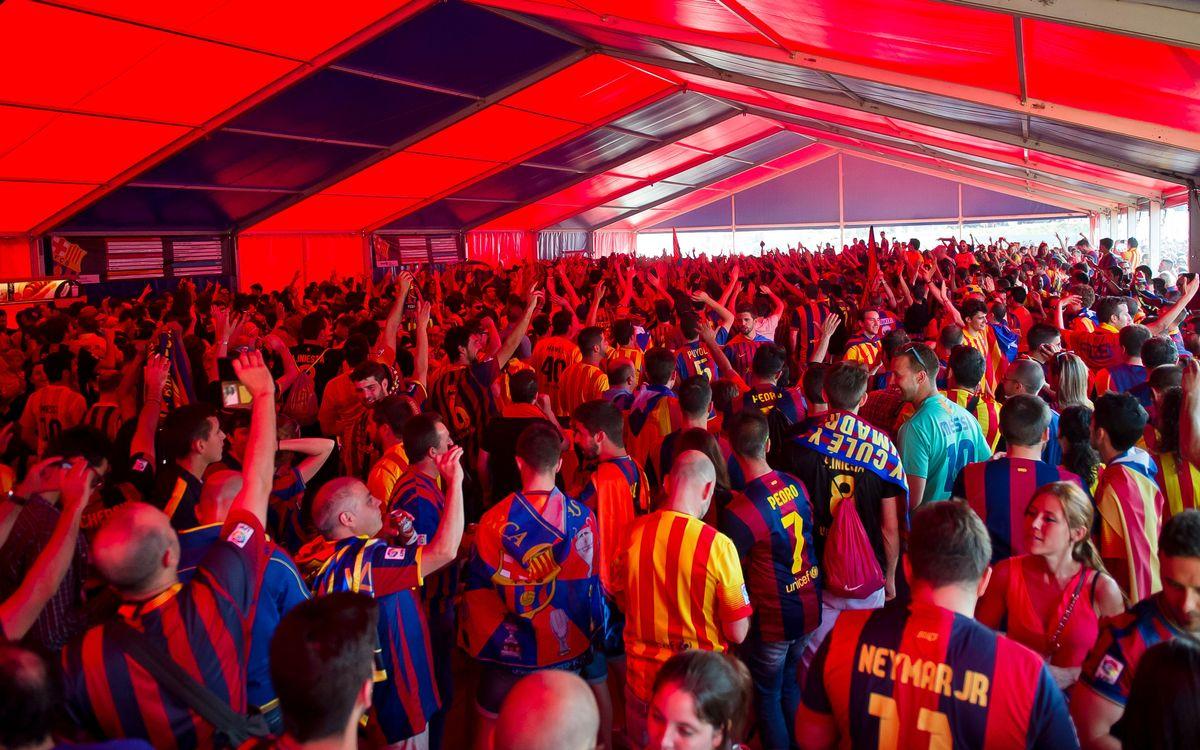Las entradas para la final de la Copa del Rey se sortearán este jueves 14 de abril