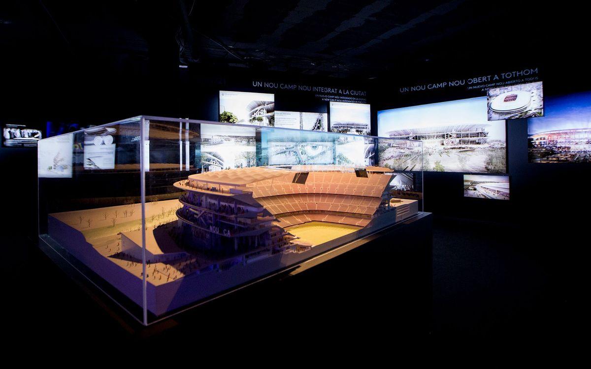 L'exposició de l'Espai Barça restarà oberta a tothom fins el 31 de juliol