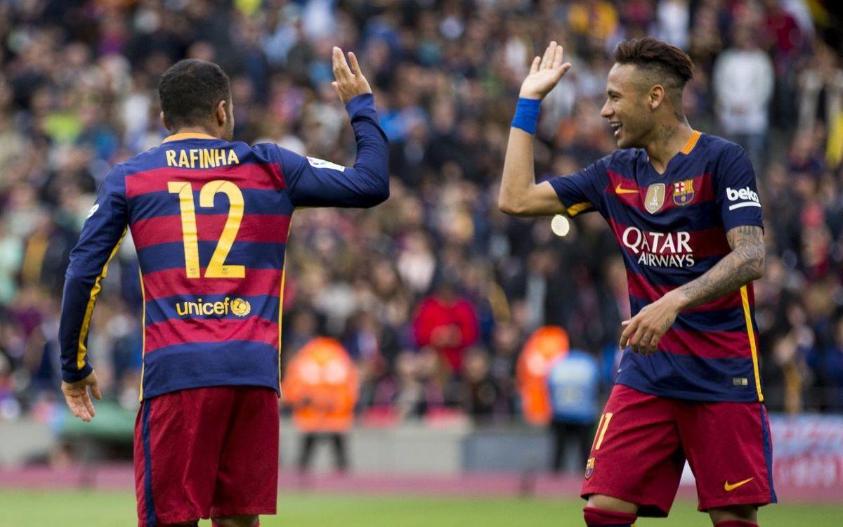 Bordas i Sanllehí donaran suport a Neymar Jr i Rafinha a la final olímpica