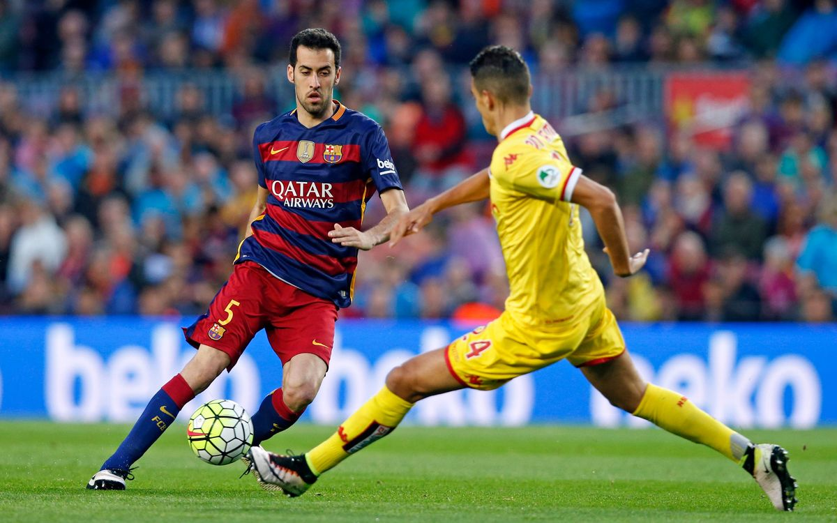 Ten key stats from Sergio Busquets' time with FC Barcelona