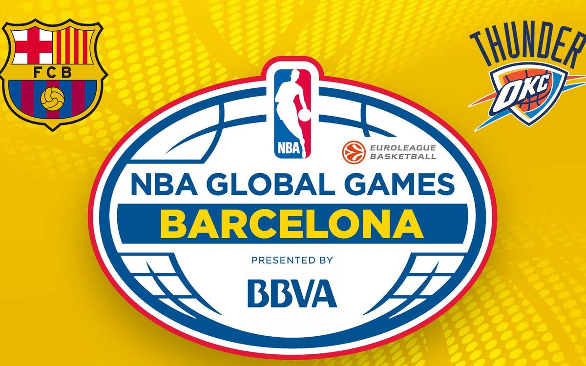 FC Barcelona Lassa to play exhibition game against the Oklahoma City Thunder