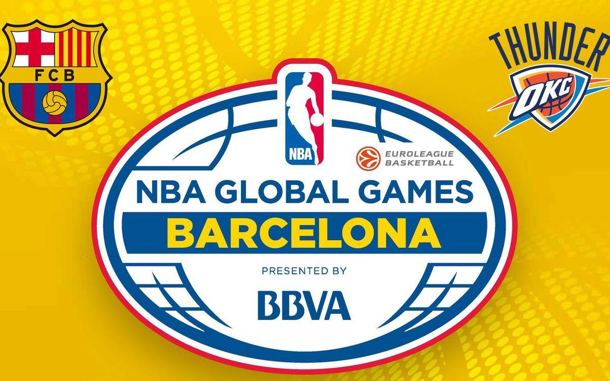 FC Barcelona Lassa to play exhibition game against the Oklahoma City Thunder